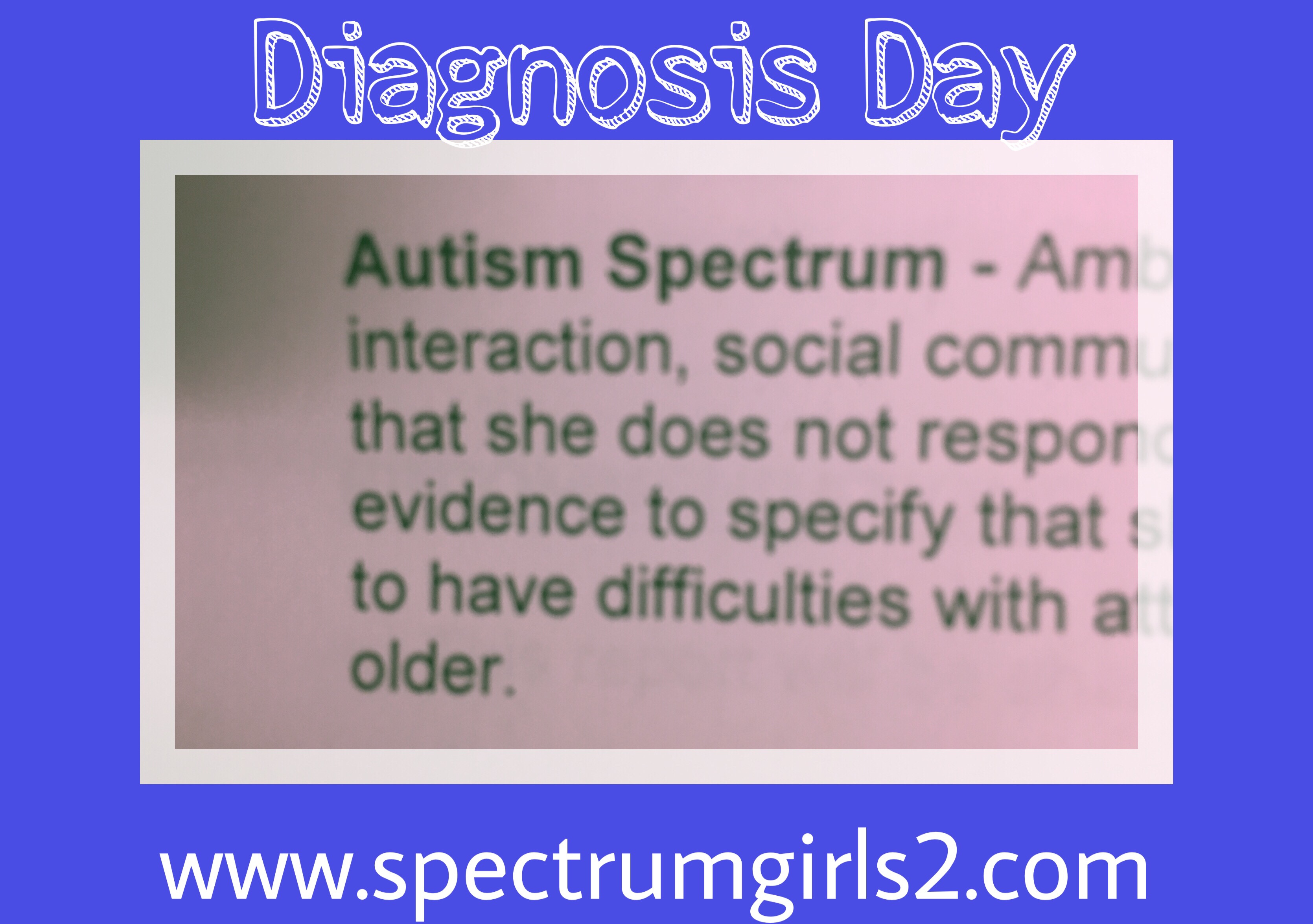 Autistic Spectrum Disorders – Spectrum Girls